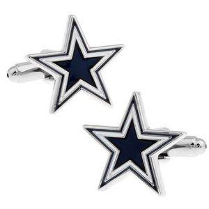 Other - 5 Point Star Cufflinks